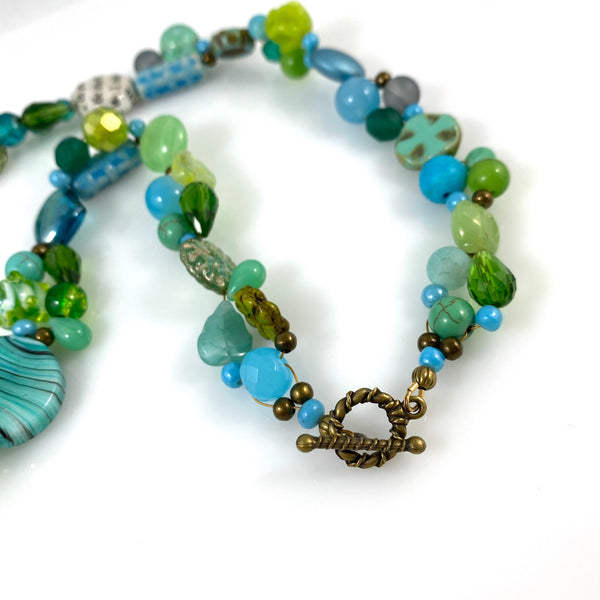 """My Beautiful Chaos"" - Bright Spot Necklace"