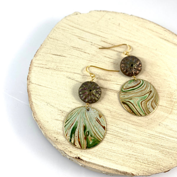 """Into the Wind"" Earrings"