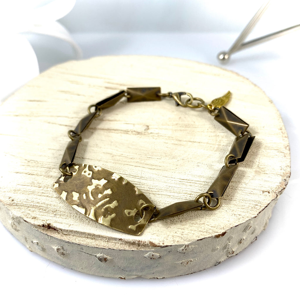 """Antiqued Trail"" Bracelet"