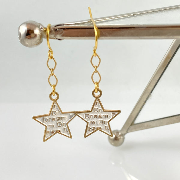 """North Star"" Earrings"