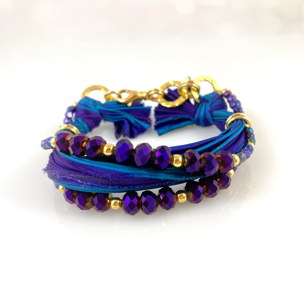 """Regal Ribbon"" Bracelet"