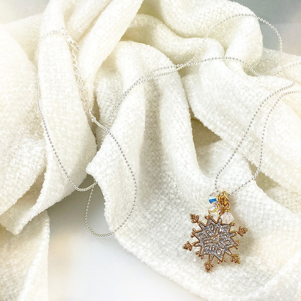 Snow Wishes Necklace - 1