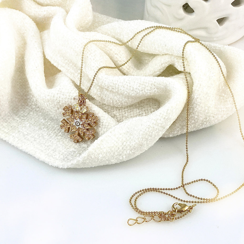 Snow Wishes Necklace - 2
