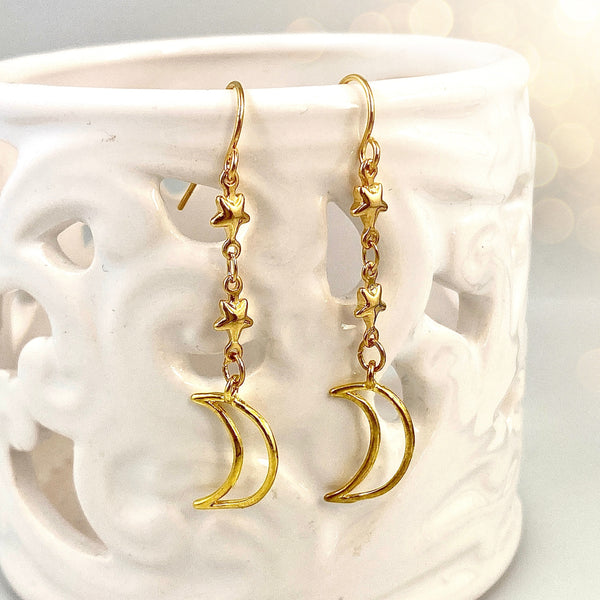 """To the Moon"" Earrings"