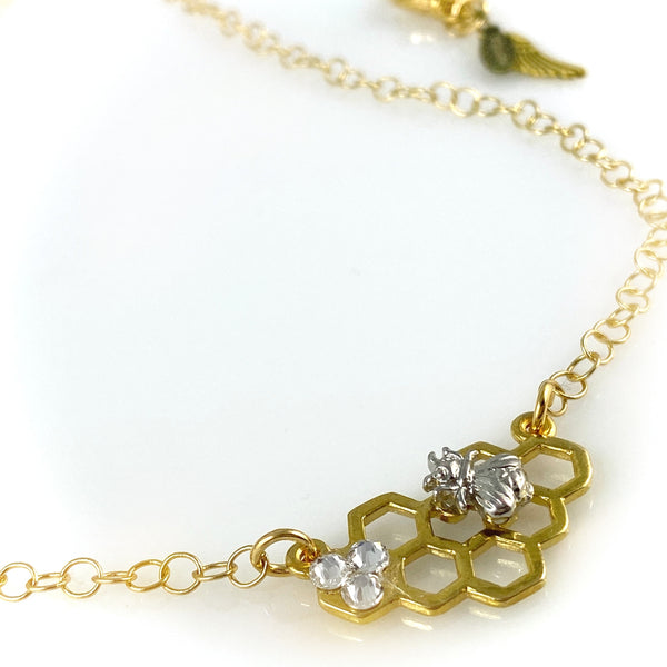 """Bee Together"" Necklace"