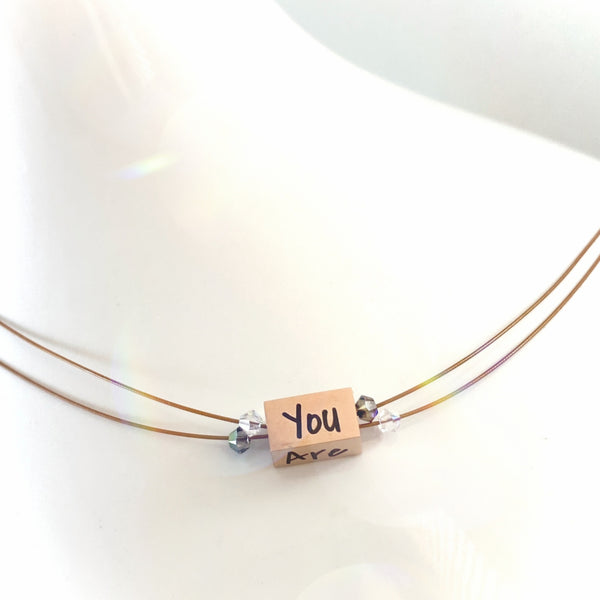 """You Are My Sunshine"" Kemba Signature Necklace"