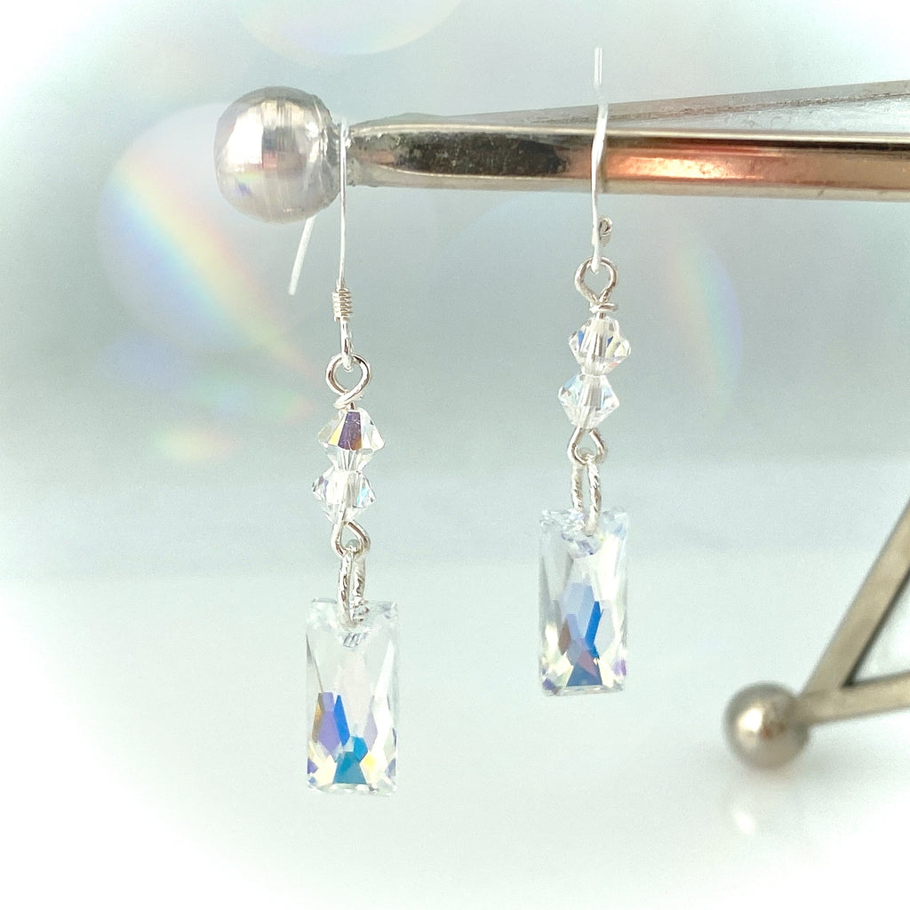 """Stand Strong"" (Iridescent) Earrings"