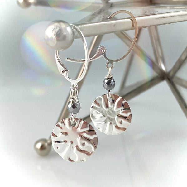 """Give me a Hint"" (Snowflake) Earrings"