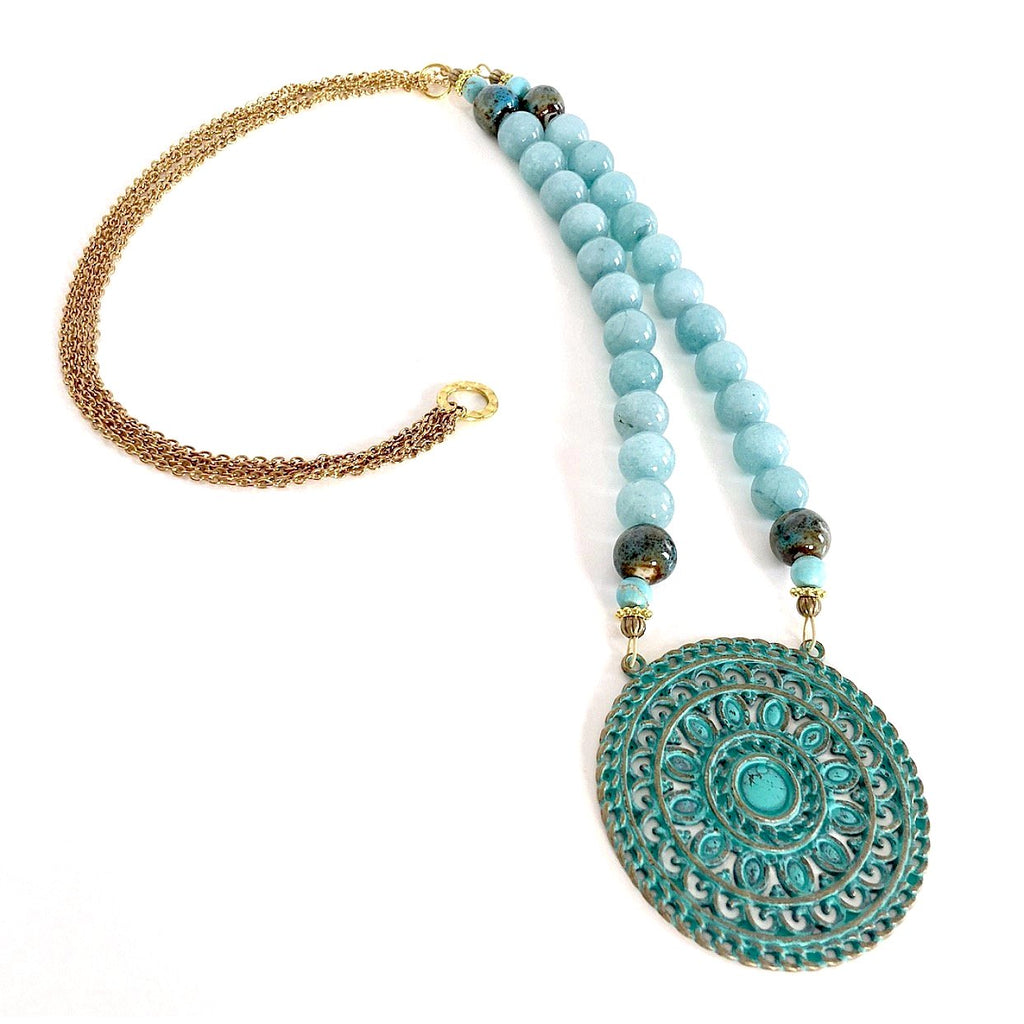 """Breezy"" Full Length Necklace"