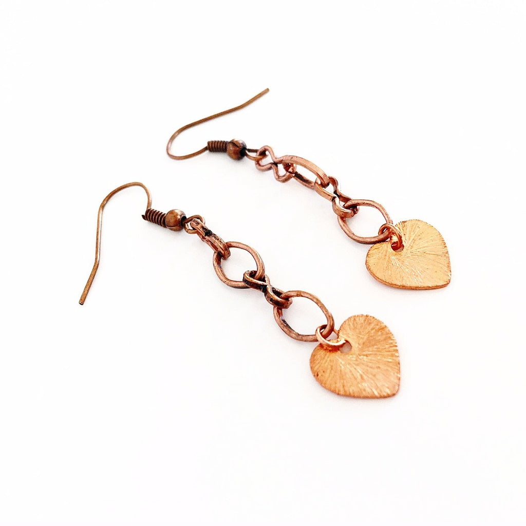 """Fallen Heart"" Earrings"