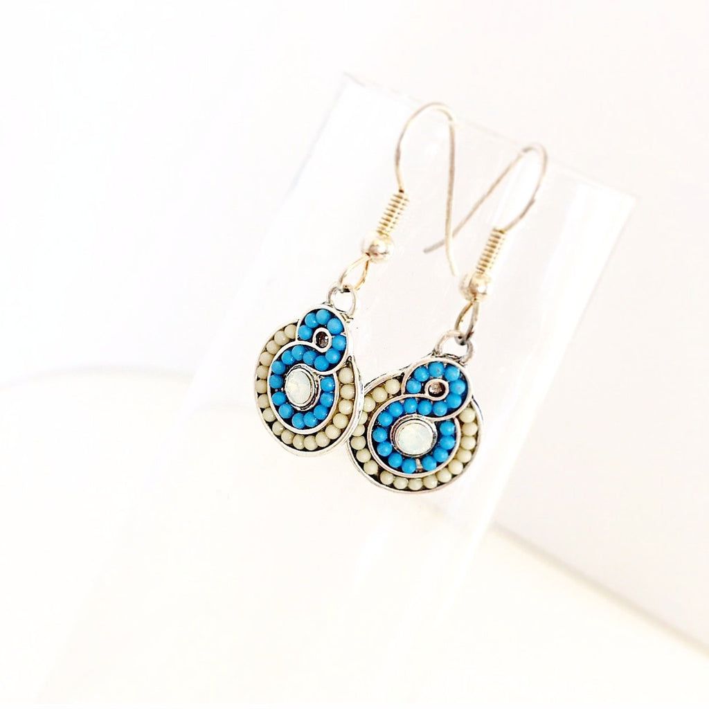 """Lucky 8"" Earrings"