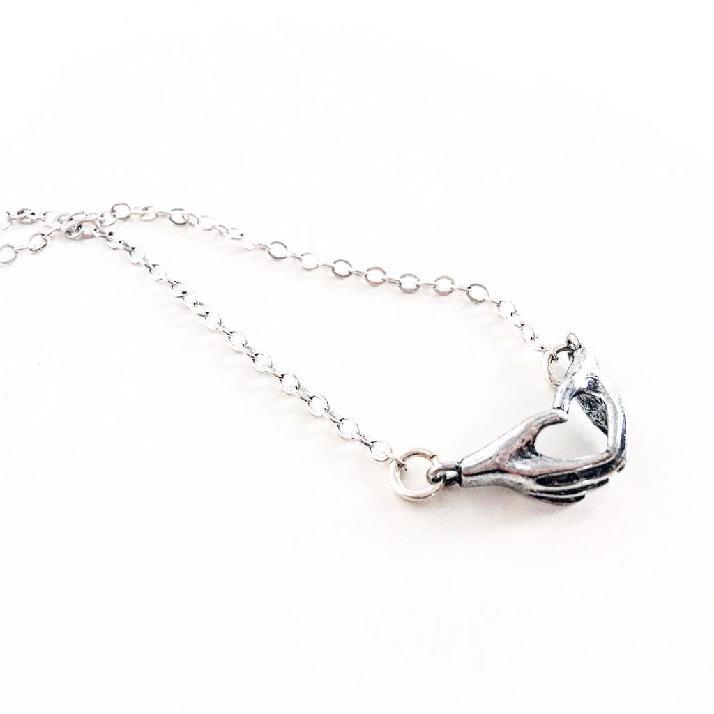 """Love Sign"" Charm Necklace"