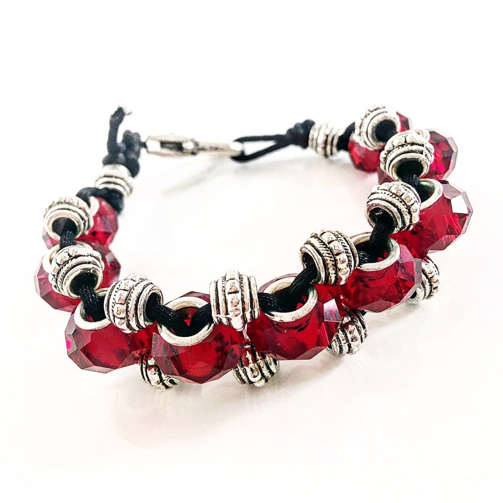 """Trail Blazer"" Bracelet (Red)"