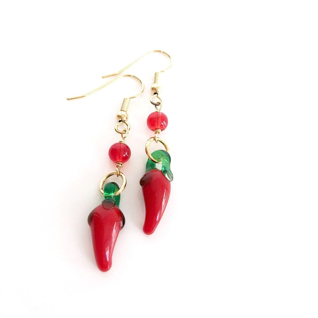 """Hot Stuff"" Earrings"