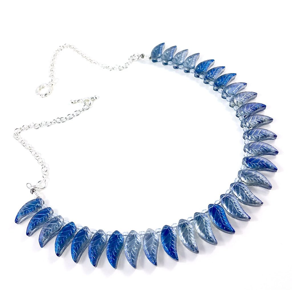 """Blue Ice"" Necklace"
