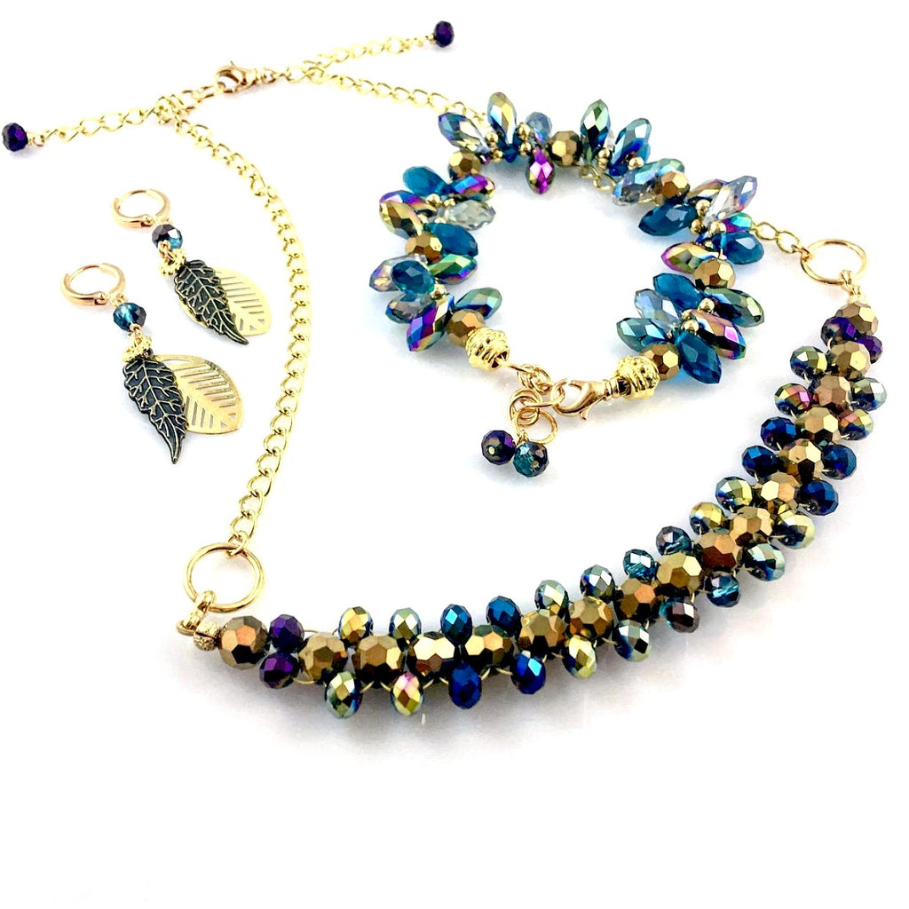 """Full Feather"" Necklace (set)"