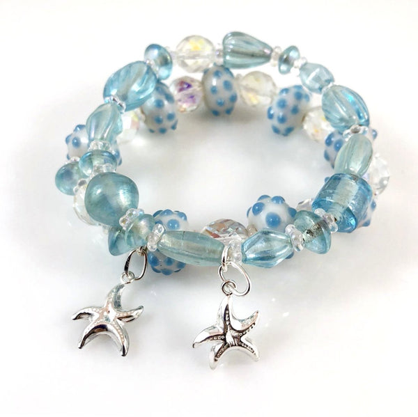"""Seascape"" Bracelet Set"