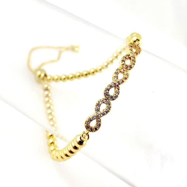 """Always Linked"" Bracelet (Gold tone)"