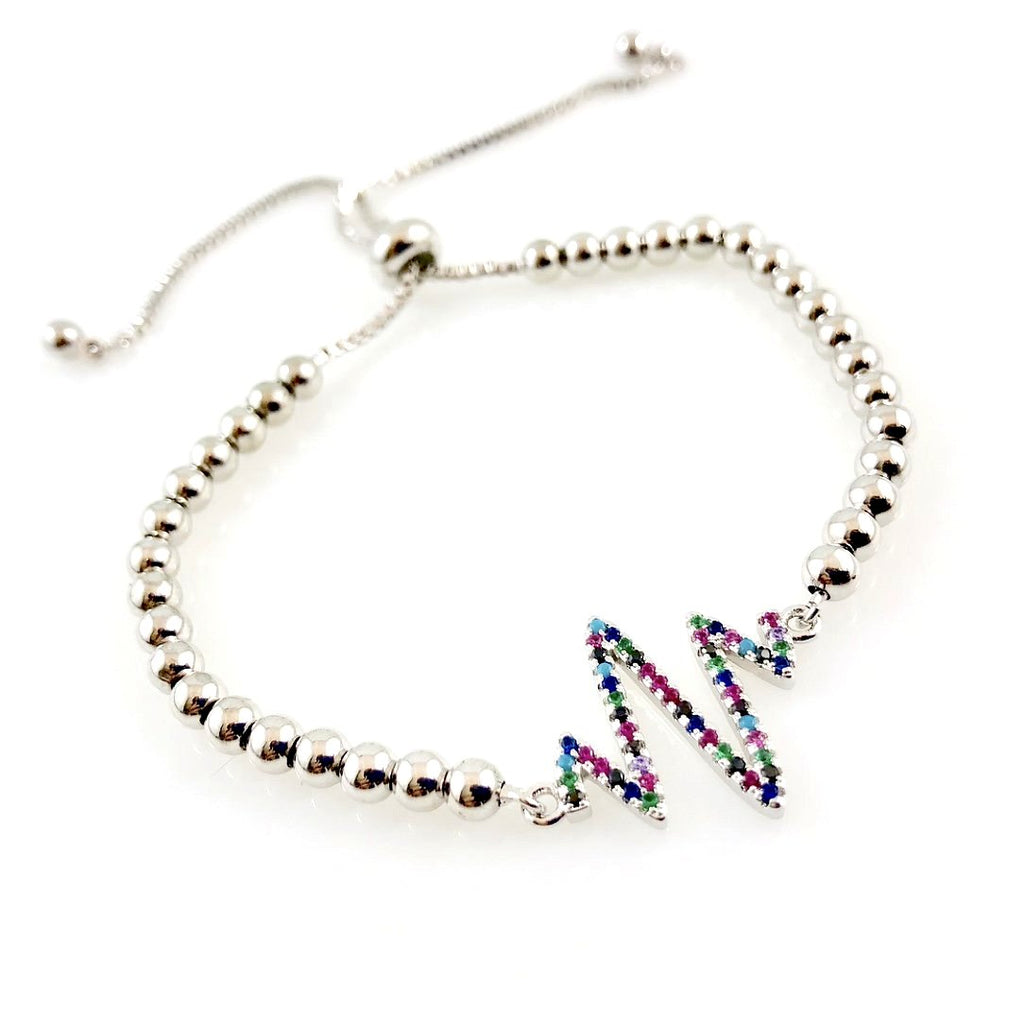 """T-Wave"" Bracelet (Silver tone - Jewels)"