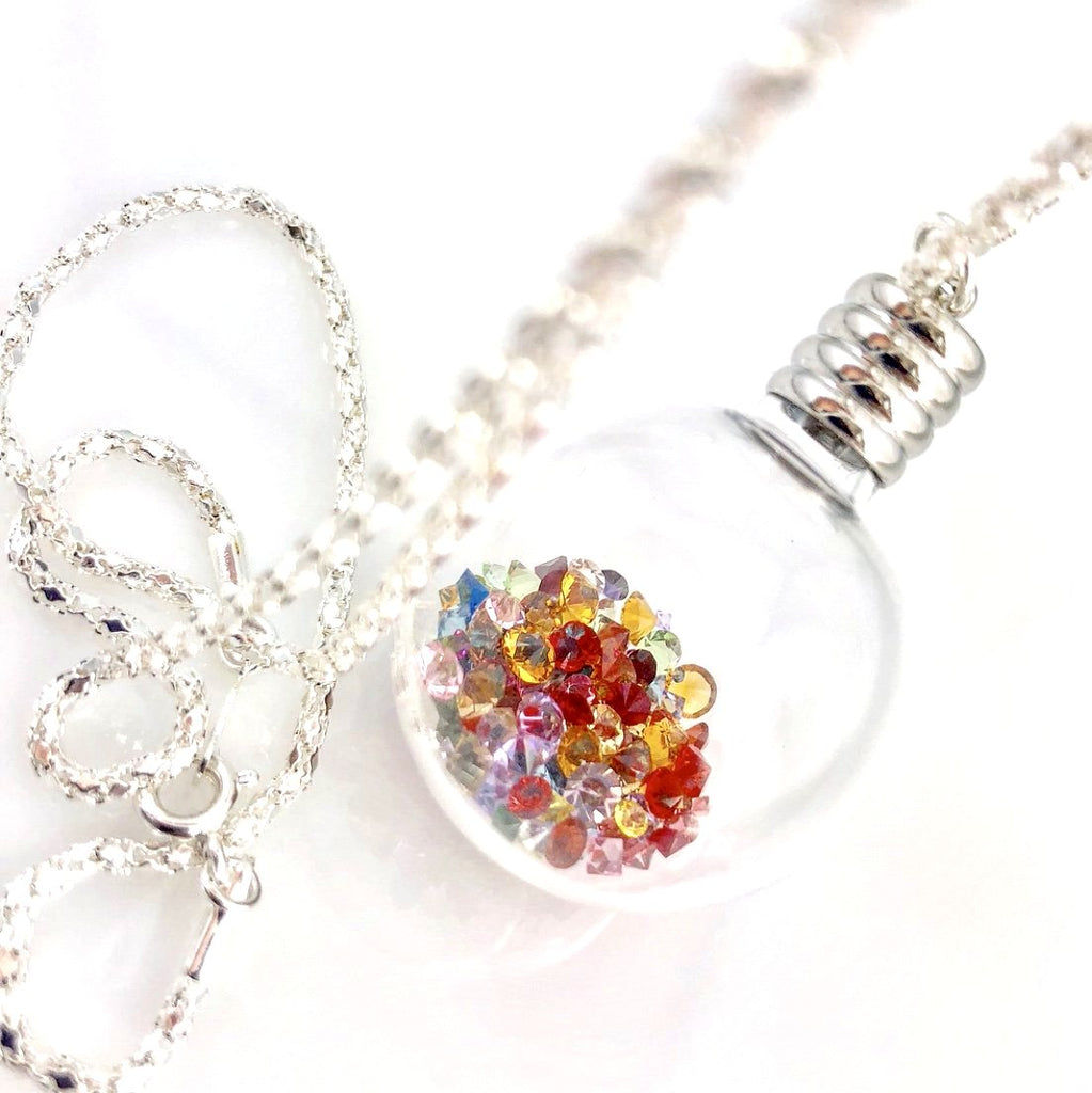 """Inner Sparkle"" Pendant Necklace (Large)"
