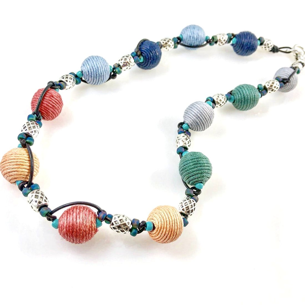"""Boho Bobble"" Necklace"