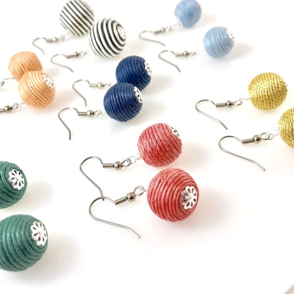 """Boho Bobbles"" Earrings"