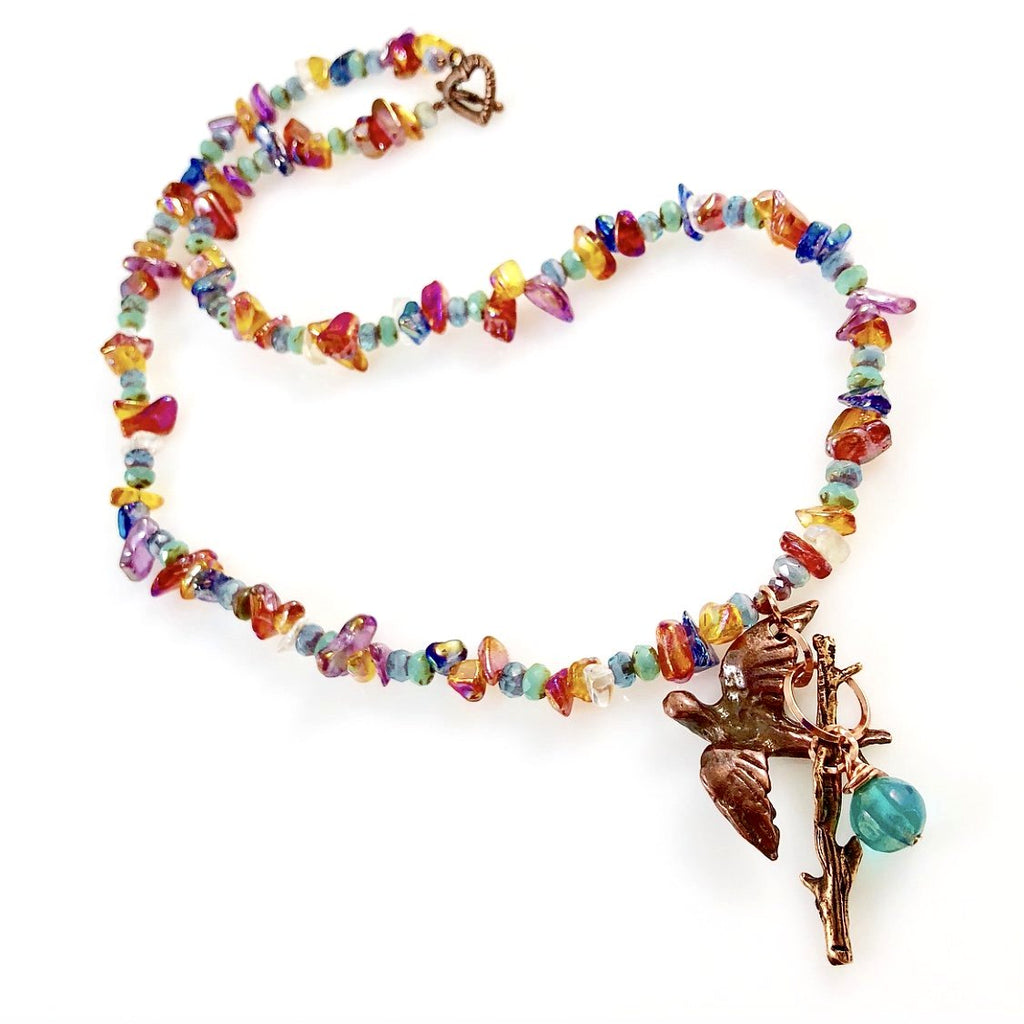 """Bird of Paradise"" Necklace"