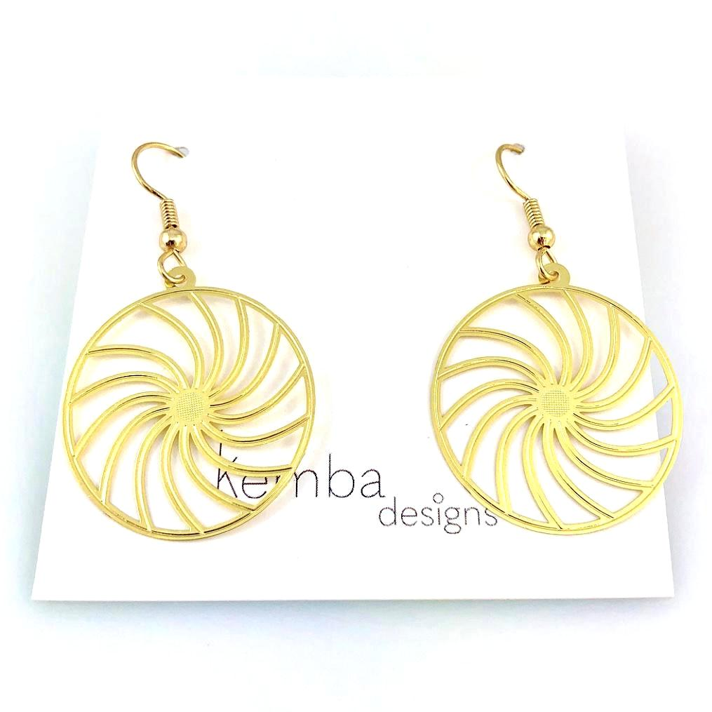 """Pinwheel"" Earrings"