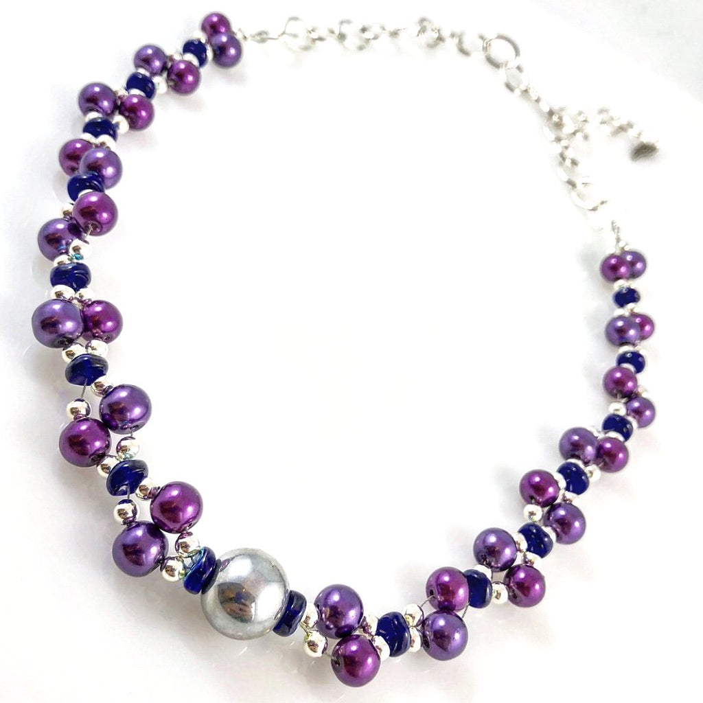 """Lilac Wave"" Necklace"