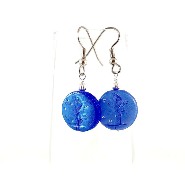 """Blue Moon Spirit"" Earrings"