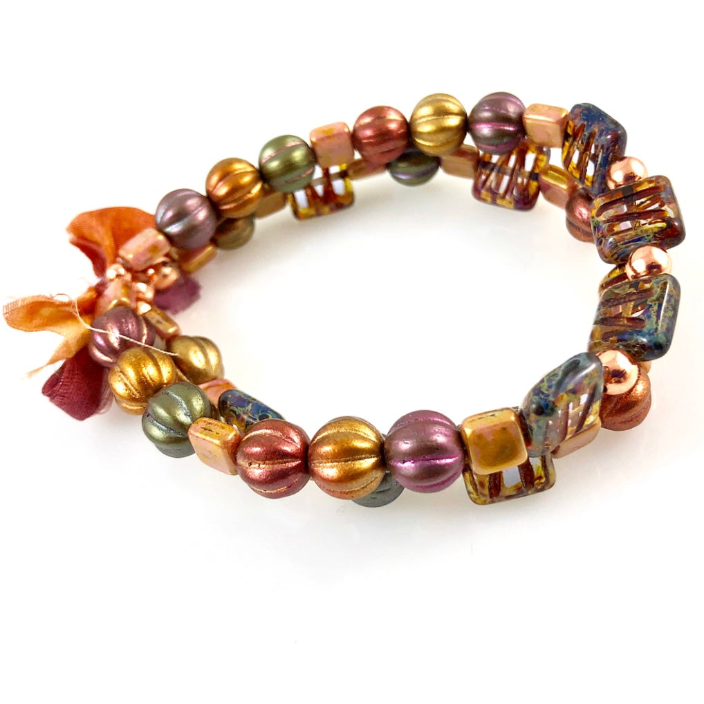 """With Thanks"" Bracelet - Autumn"
