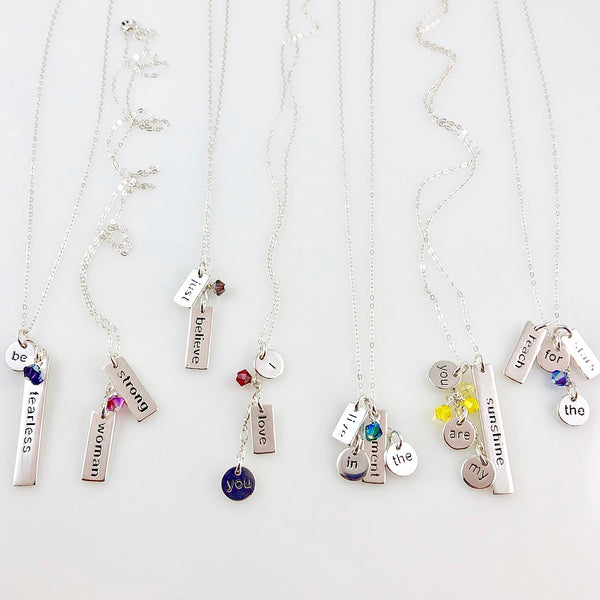 """Heart Speak"" Necklaces (I Love You)"