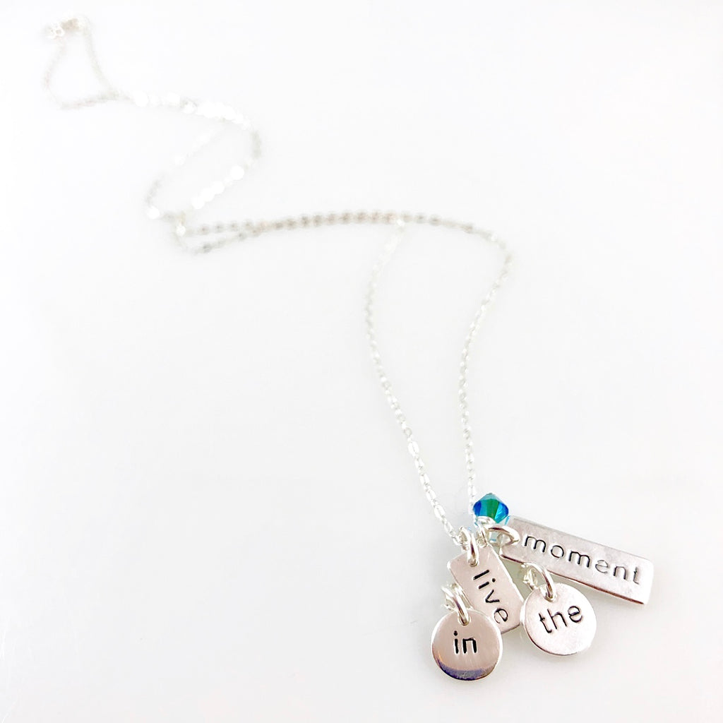 """Heart Speak"" Necklaces (Live in the Moment)"