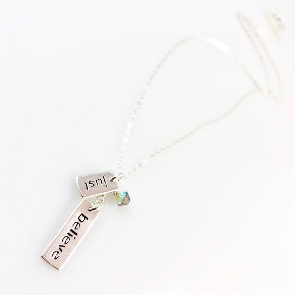"""Heart Speak"" Necklaces (Just Believe)"