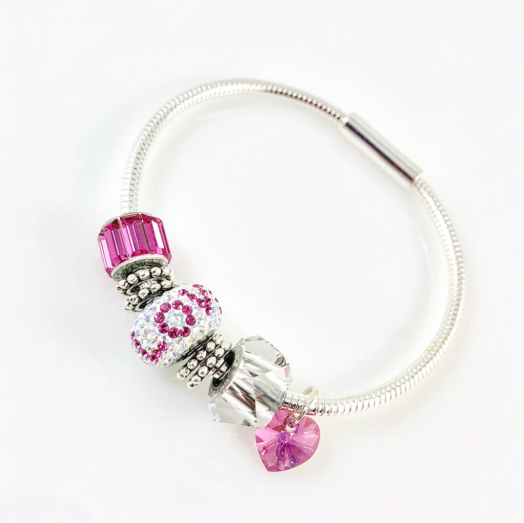 """Within Love"" Bracelet (Pink)"