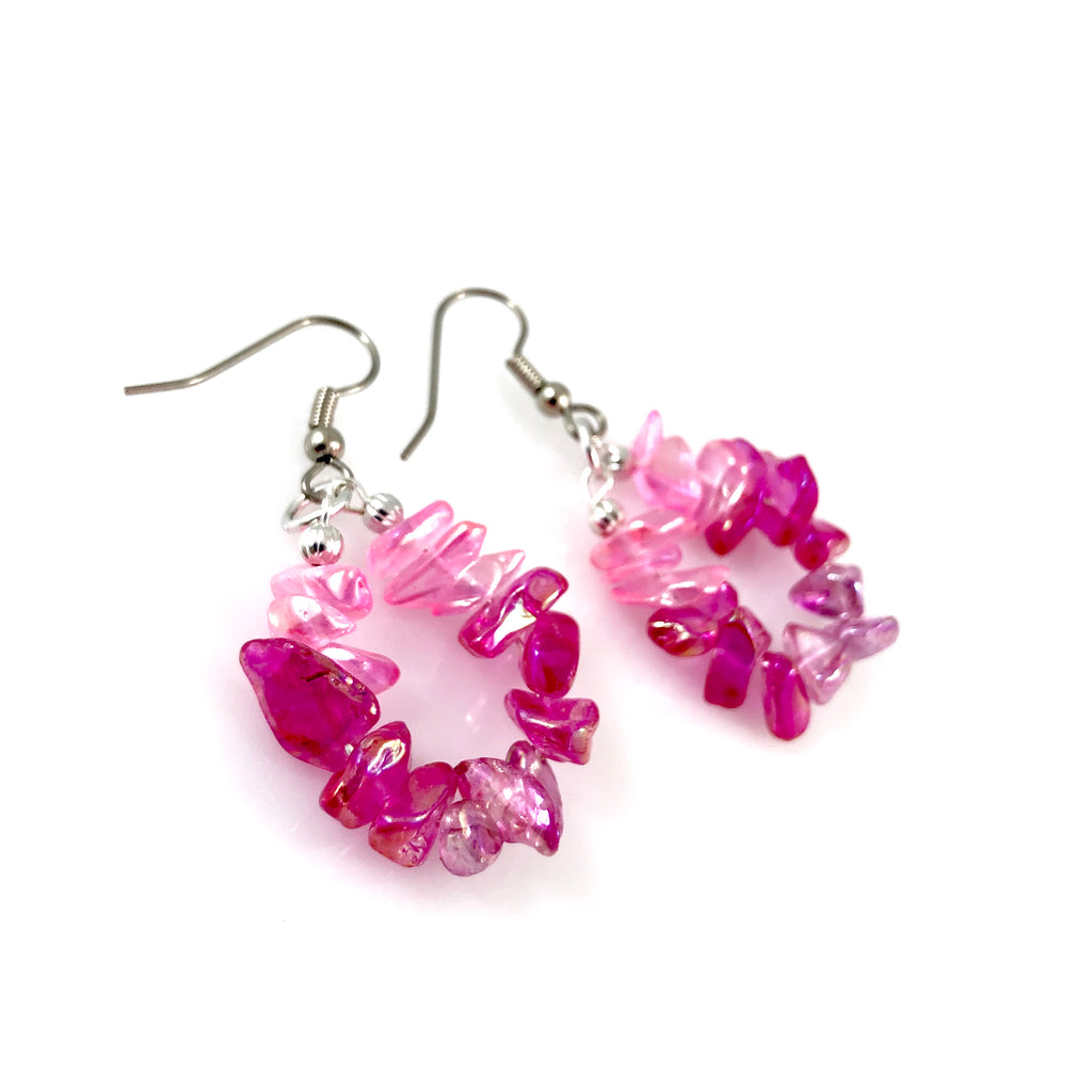 """Crystal Sugar"" Earrings (Various Colours)"