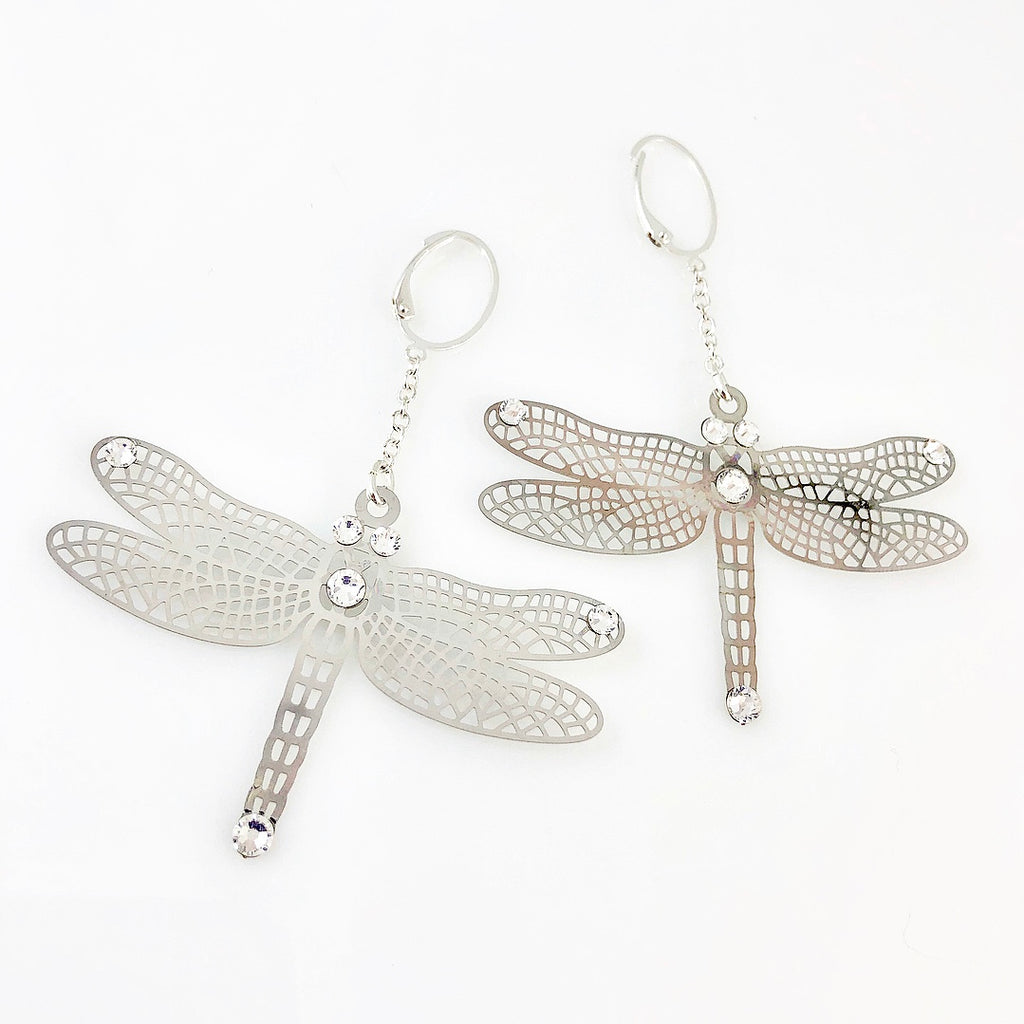 """Waiting to Land"" Earrings"