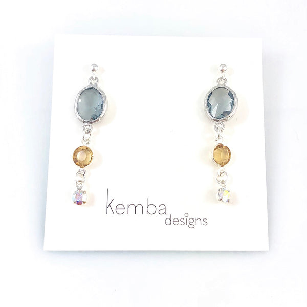 """Dew Drop"" Earrings"
