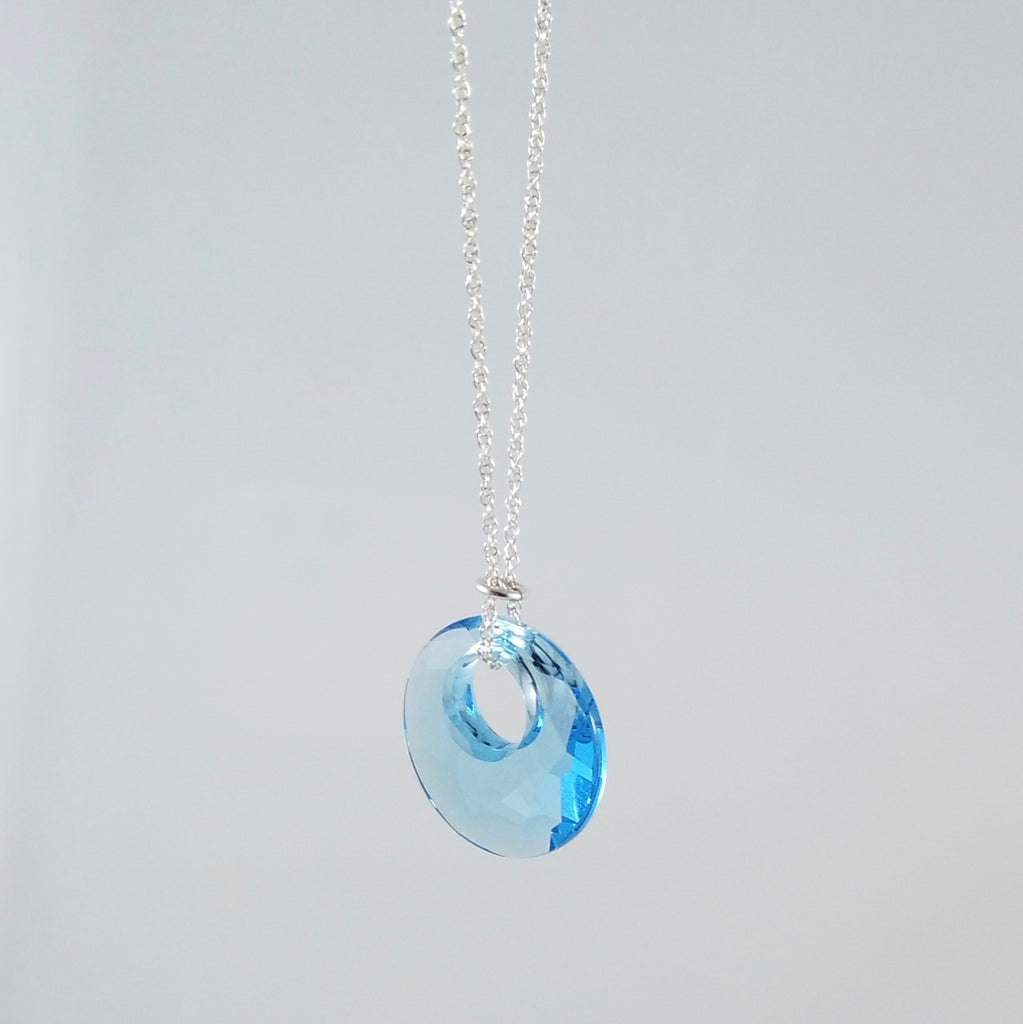 """Twinkle"" Blue Moon Necklace"