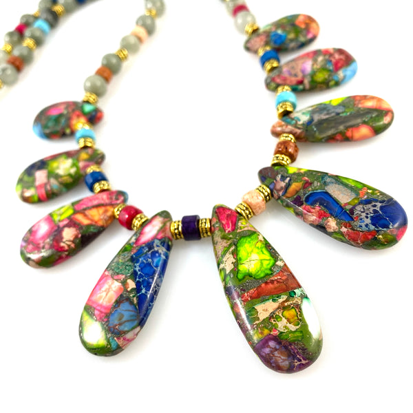 """Rainbows"" Necklace"