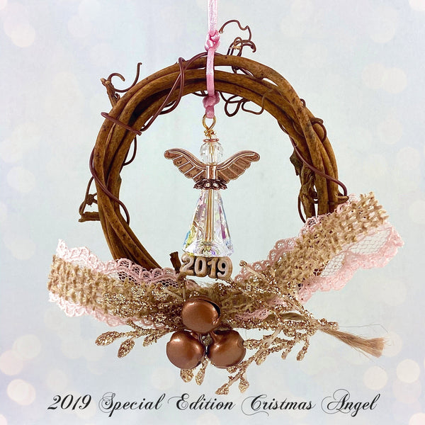 """A Circle of Angels"" 2019 Special Edition Christmas Angel"