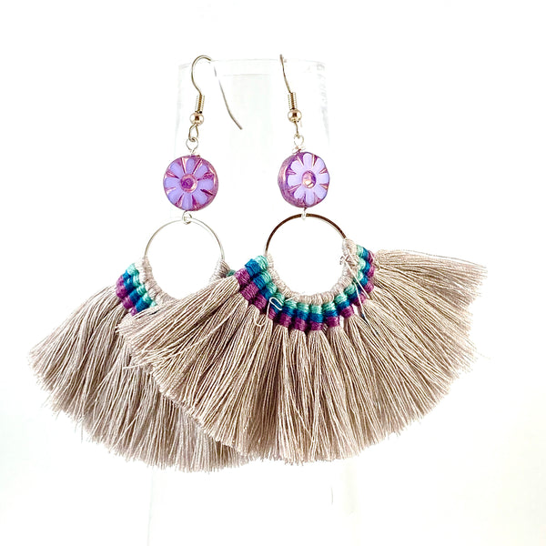 """Fan Me"" Earrings"