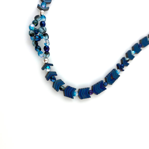 """Electric Blue"" Necklace"