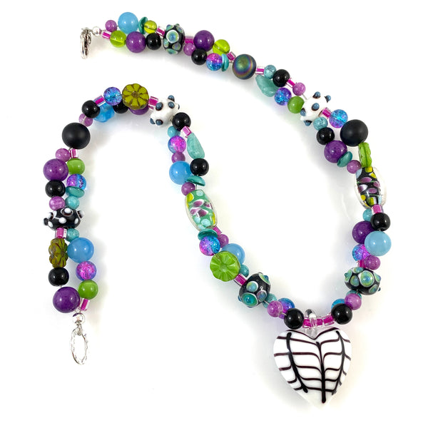 """My Beautiful Chaos"" Necklace (Sunshine & Lollipops)"
