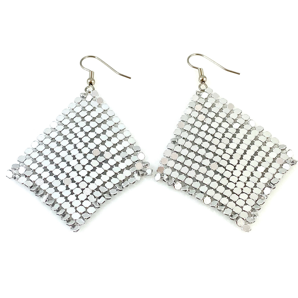 """Jenissa"" Earrings (silver)"