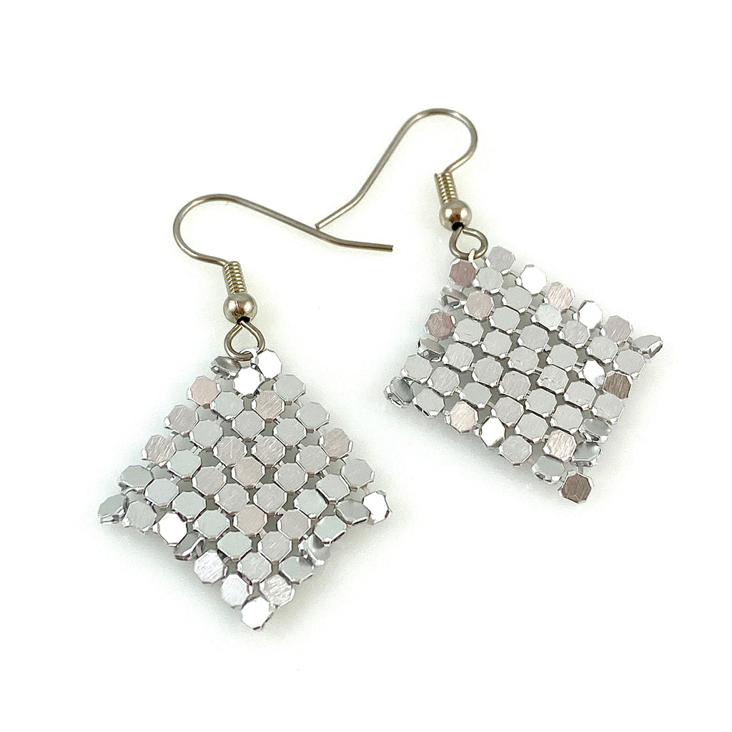 """Jerica"" Earrings (silver)"