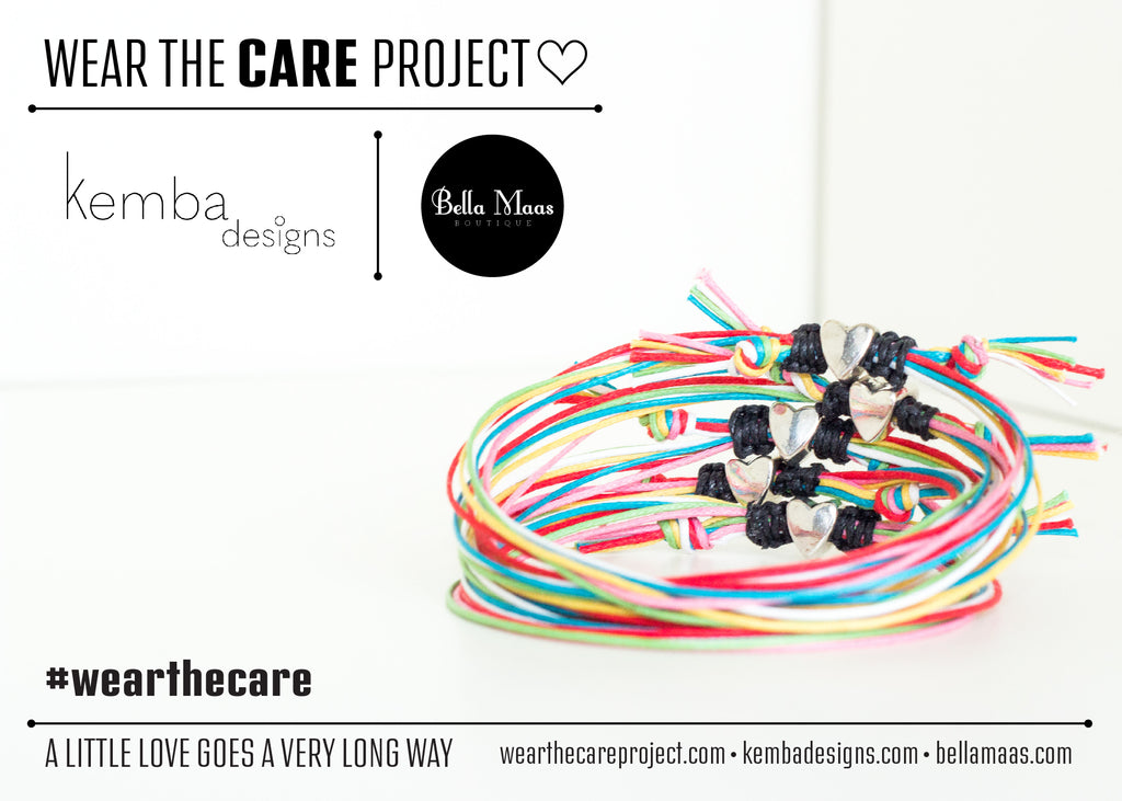 "Wear The Care - ""A Little Love"" Bracelets"