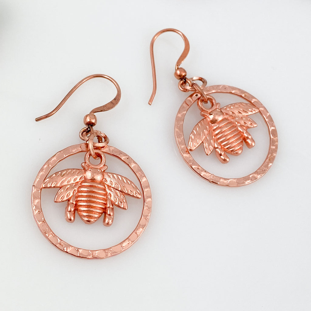 """Bring the Bees"" Earrings"