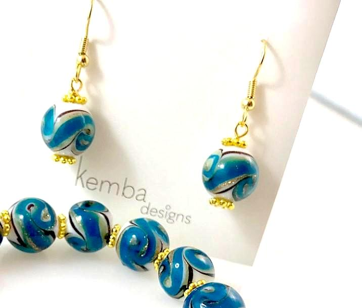 """Oceana"" Earrings"