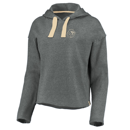 Women's FB Raw Edge Hood – Gry